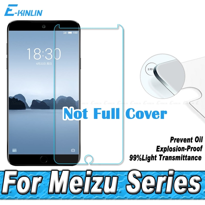 Защитная пленка из закаленного стекла 0,26 мм 2.5D для Meizu 17 16 X 16Xs 16s Pro 16th 15 Plus Lite