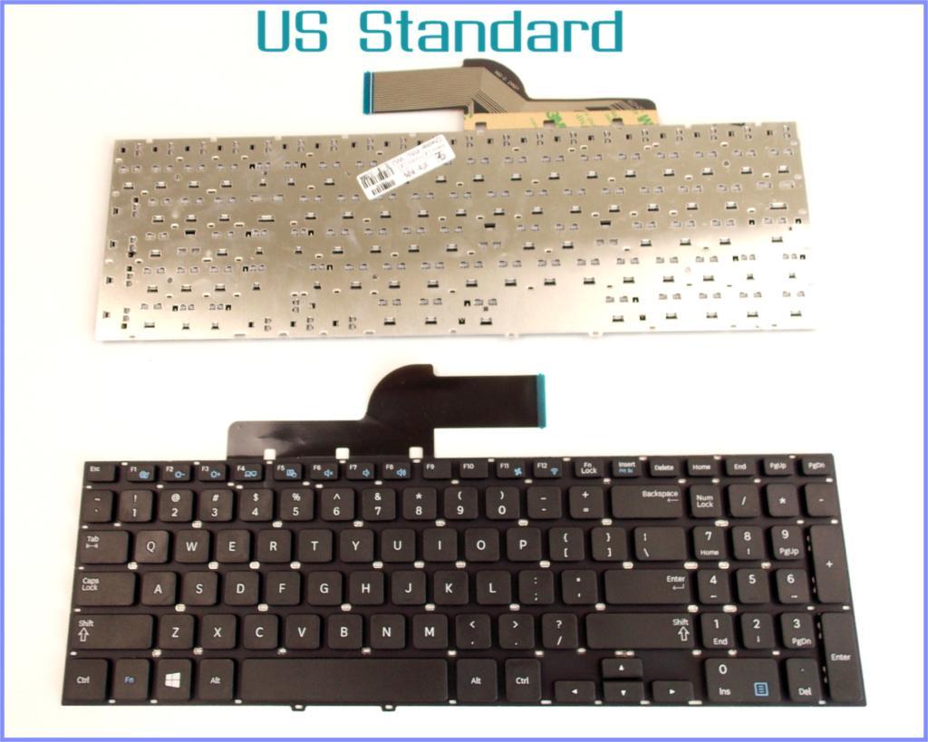 Teclado versión en inglés de EE. UU. Para Samsung PN 350V5A 355V5A NP350V5A NP355V5A 300E5V 550P5C ordenador portátil sin marco
