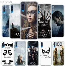 Heda Lexa The 100 TV Show Case Cover for Samsung Galaxy A30 A40 A50 A70 A6 A8 Plus A7 A9 2018 M30 Phone Case Coque