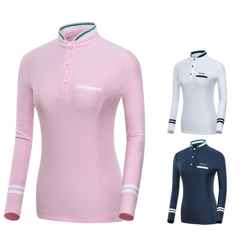 2020, camiseta de entrenamiento de Golf de manga larga para mujer, Tops, ropa de secado rápido para mujer, ropa deportiva para Golf y tenis, camiseta de tren D0691