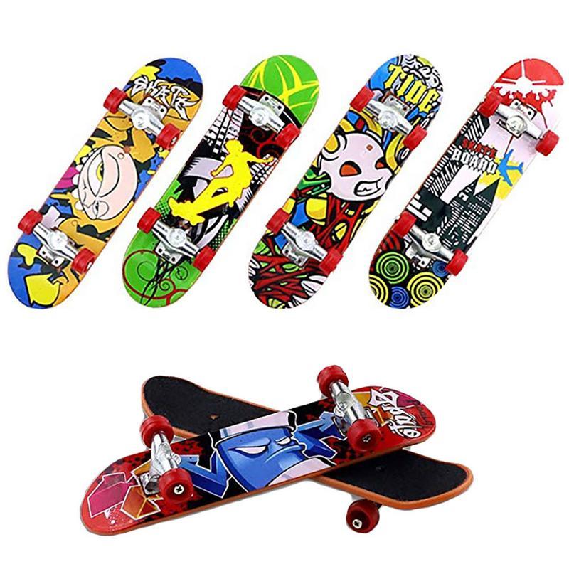1 unids/set de monopatines para dedos, juego de Skate, parque de juguetes para niños, piezas de rampa para Tech Deck, tablero de dedo, los mejores accesorios de entrenamiento deportivo