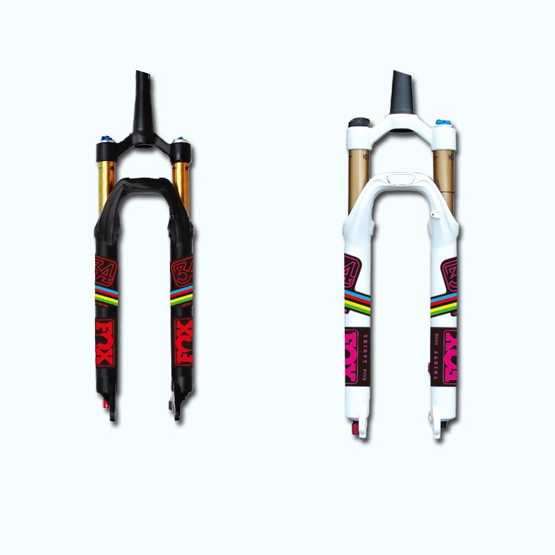 16 raposa 34 adesivos/decalques de mountain bike/bicicleta garfo dianteiro para mtb dh am shpping livre