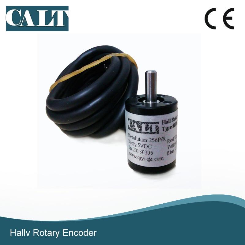 CALT mini-جهاز تشفير بزاوية 18 مللي متر ، جهاز تشفير جديد 3 فولت 5 فولت 256 1024 p/r ، دقة القياس ، مستشعر الزاوية ، خرج الجهد HPE18
