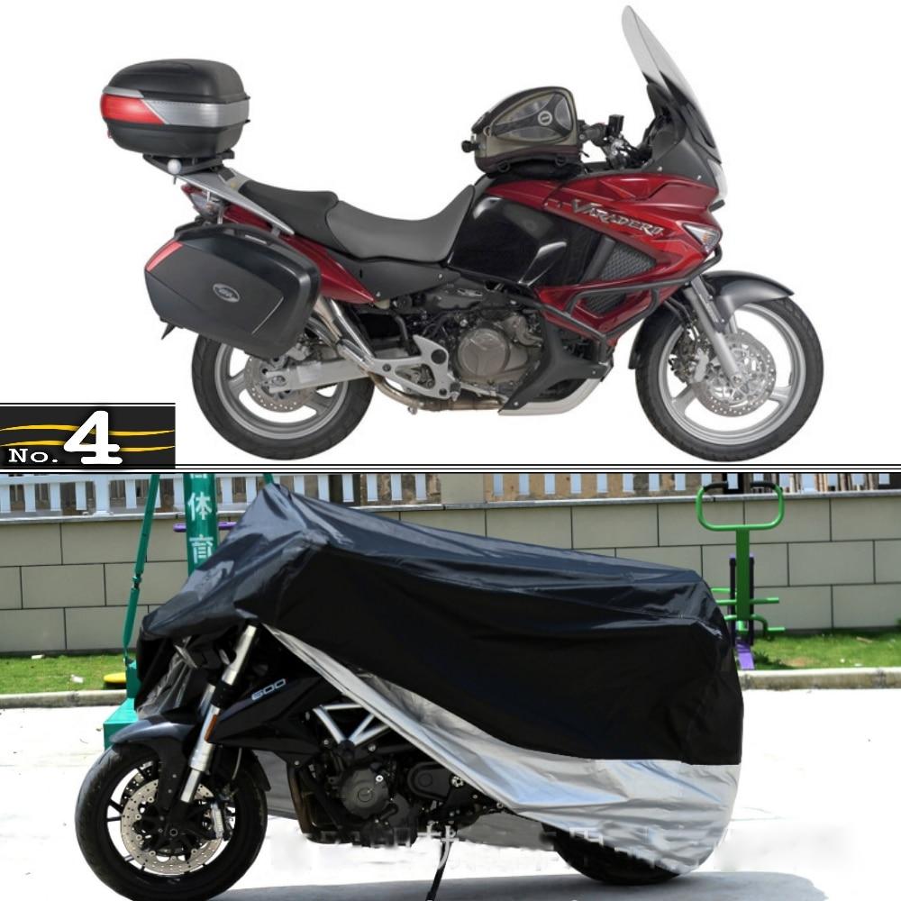 Чехол для мотоцикла Honda XL1000V Varadero водонепроницаемый УФ/солнце/пыль/чехол для защиты от дождя из полиэфирной тафты