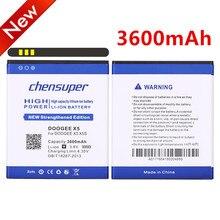 Chensuper 3600 mAh batterie de téléphone portable utilisation pour DOOGEE X5 pour DOOGEE X5S pour DOOGEE X5 PRO téléphone