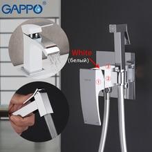 GAPPO Bacia Torneiras latão bacia torneiras com bidé torneiras torneira fazer anheiro sistema de chuveiro do banheiro misturadores torneiras sanitárias
