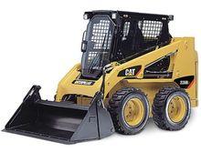 Chargeuse sur pneus Norscot 1/32 échelle Caterpillar Cat 226B3 avec outils 55268 MIB/nouveau