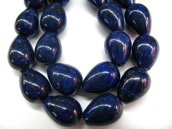 genuine Lapis Lazuli bead Gemstone ,cube drop lapis bead drop peach blue gold jewelry bead 7-20mm full strand