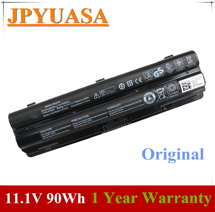 7XINbox 11.1V 90wh Original R795X J70W7 WHXY3 R4CN5 8 08PGNG Bateria Do Portátil Para DELL XPS JWPHF 14 15 L501X L502x 17 L701X L702X