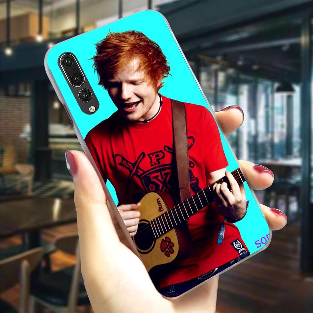 Ed Sheeran Phone Case For Huawei Honor Nova 3i Cover 6A 7A Pro 7X 7C 8C/8 9 10 Lite Play Y6 Y7 Prime Y9 Nova 3/4