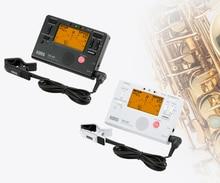 Accordeur de métronome Korg TM60 avec micro à clipser peut être utilisé pour les instruments à vent, guitare, ukulélé et clavier de Piano