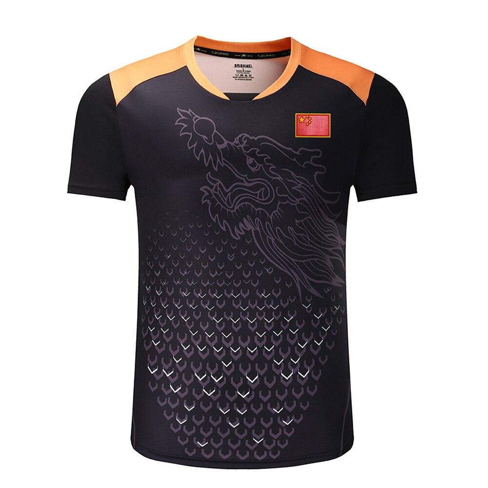 Новые китайские рубашки для настольного тенниса с флагом, рубашки для пинг-понга, одежда для настольного тенниса, спортивные рубашки для настольного тенниса