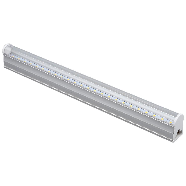T5 4W 24 LED 2835, lámpara de tubo fluorescente SMD, lámpara de neón 3000K blanco cálido