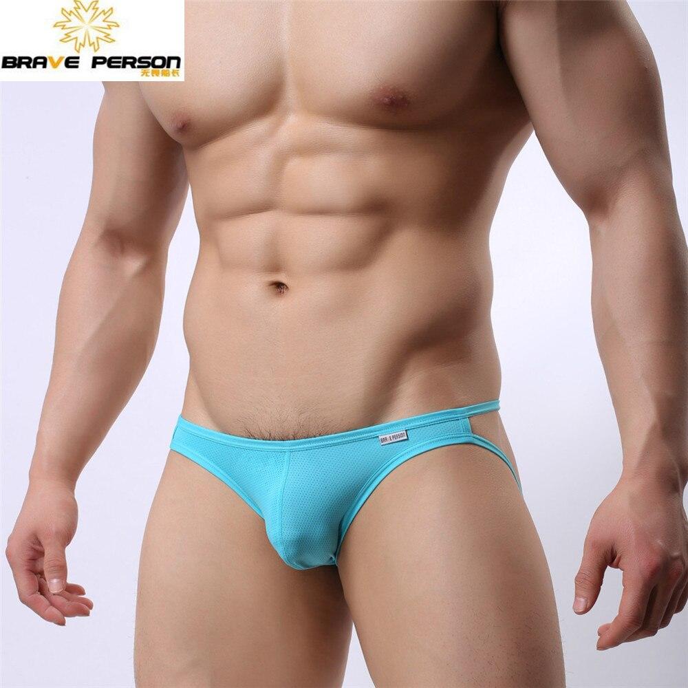 Braguitas braguitas sexis para hombre Brave Person Tanga para hombre Tanga suspensorio transpirable Spandex ropa interior suspensorios B1147