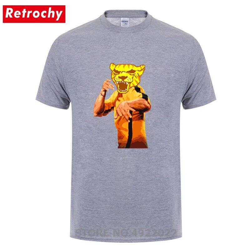 A maioria dos Populares Punhos De Fúria Hotline Miami T-Shirt Engraçado Chinês Kung Fu Camiseta Hombre Tee Manga Curta Camisa Kung Fu loveful Tees