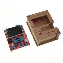 LCD GM328A bricolage Kits Transistor testeur Diode capacité ESR tension fréquence mètre carré vague Signal générateur SMT soudure
