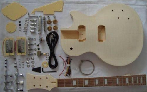 Kits de guitarra eléctrica semiacabados sin montar, guitarra eléctrica LP #3
