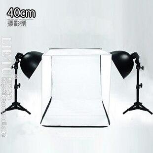 photo light box 40cm cube box  27cm lamp holder Photo box with 2pcs 150W light blub  softbox lighting kit CD50