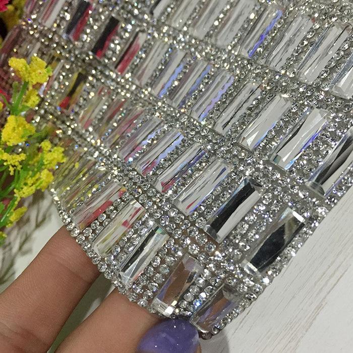 Interior  diamond bling rhinestone sticker sheets luxurious phone case decor Self Adhesive Scrapbooking Sticker shoes decoration
