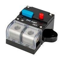 80A/100A/150A/200A/300A car truch audio circuit breaker fuse holder
