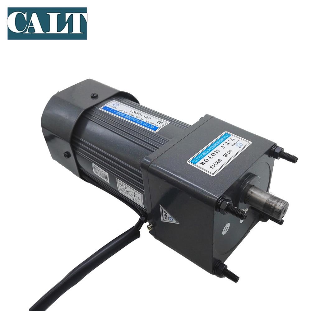 High power 120W VTV YN90-120 Ac gear motor 90mm frame size Single phase 3wire Constant speed motor 220V enlarge