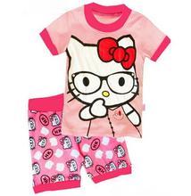 childen Pijama Bebe Kid Night Wear Infantil Pajamas Summer Toddler Boy Sleepwear pyjamas Kids Short Sleeve Clothes Homewear et54