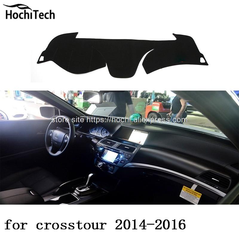 Para honda crosstour 2011-2016, alfombrilla protectora para salpicadero, cojín de sombra, accesorios de estilo de coche