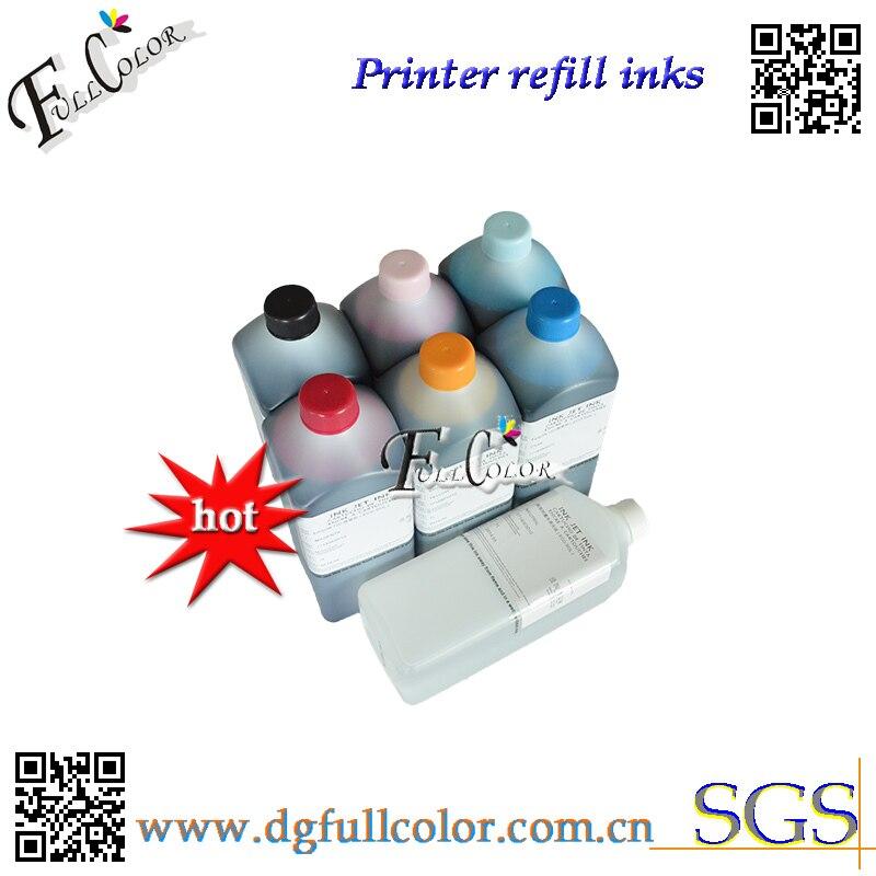 Envío Gratis tinta eco-solvente de repuesto de calidad superior para tinta de impresión Epson R290 ciss con líquido de limpieza 7 litros a mucho