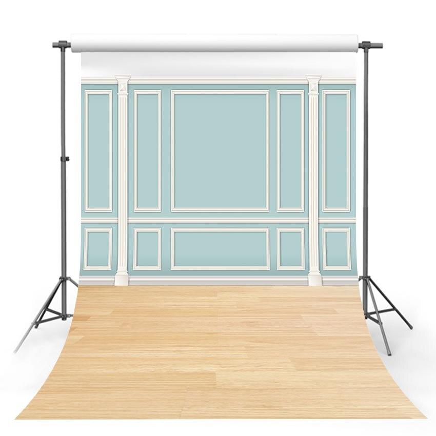 Fondo fotográfico de pared azul en interiores, fondo fotográfico para recién nacidos, decoración para sesión fotográfica, Fondo para estudio fotográfico
