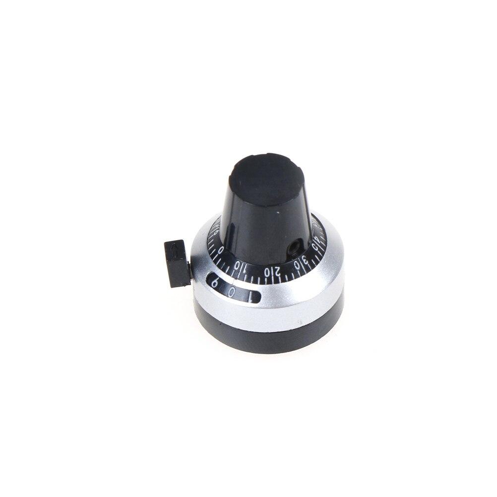 6 мм электрические компоненты 3590S ручка точный циферблат Кнопка шляпа-замок переключатель колпачки цифровая кнопка точный потенциометр 1 шт
