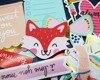 75 Uds. Troqueles de papel de aluminio dorado con memoria rosa y amor de zorro pegatinas para álbumes de recortes planificador feliz/fabricación de tarjetas/proyecto de diario