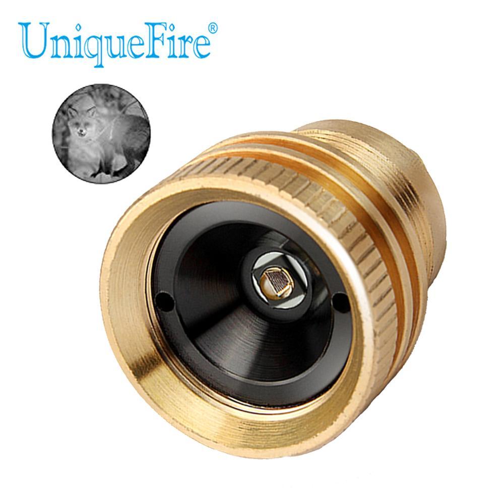 UniqueFire 4715AS IR 850nm держатель лампы светодиодный светильник для таблеток инфракрасный модуль подходит для UF-1508 светодиодный фонарь с масштабир...