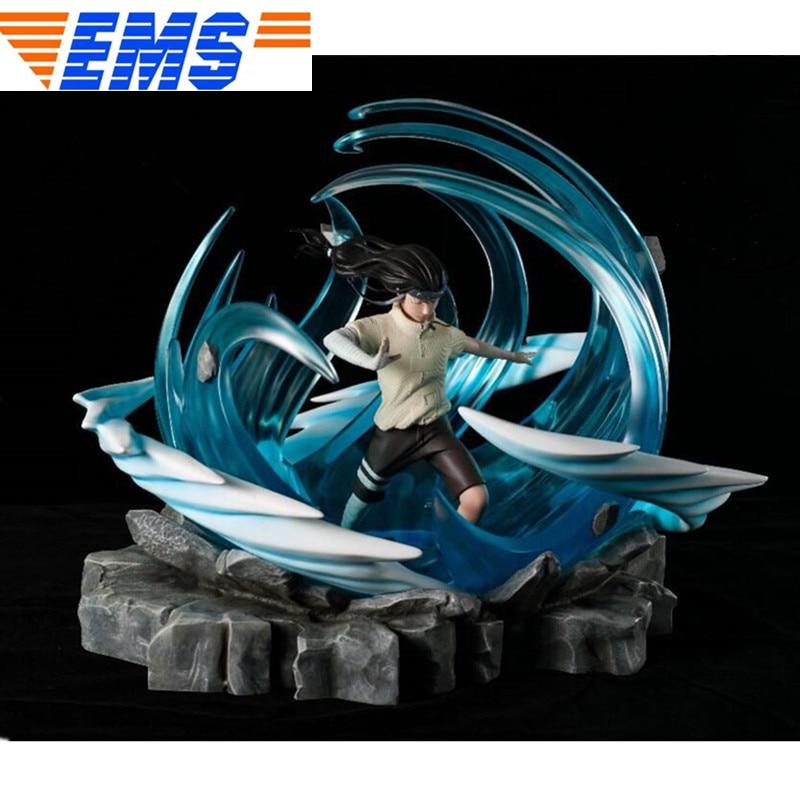 Figura de acción del Anime NARUTO konohagkurenosato, Hyuga Neji 1/7 GK, figura de acción de retrato de resina de longitud completa, juguete de modelos coleccionables en caja Q601