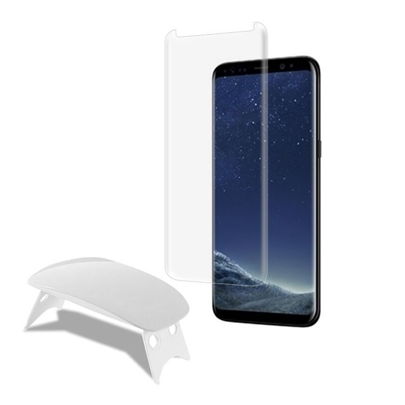 2 uds para Samsung Galaxy Note 10 Pro pegamento líquido completo protector de pantalla de vidrio templado 3D curvado con luz UV grande Ultra delgado