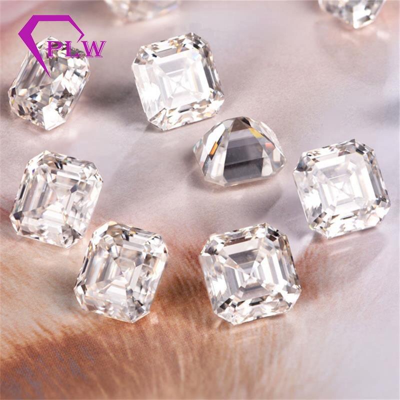 Joyería de Provenza 3,5 quilates 9*9mm D color suelto moissanite asscher corte prueba gema positiva para pulsera anillo cadena pendiente