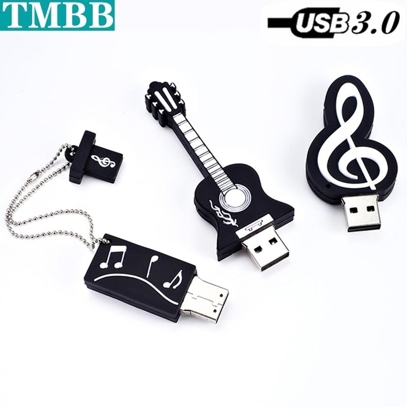 USB 3,0 музыкальный инструмент Usb флэш-накопитель дешевый флэш-накопитель 256 ГБ 16 ГБ USB-карта памяти 128 ГБ 32 ГБ 64 ГБ флэш-накопитель U-диск креатив...