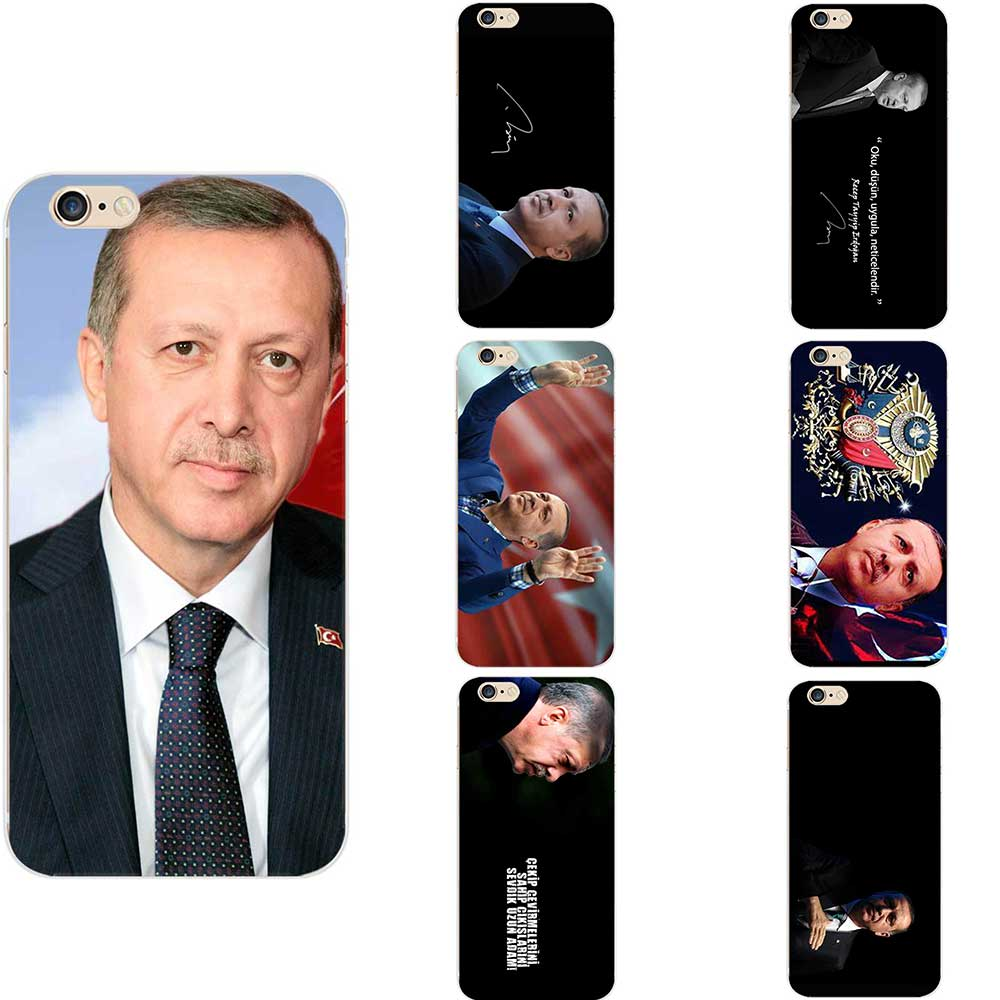 Турецкий Реджеп Тайип Эрдоган тема Национальный флаг Мягкий ТПУ турецкий телефонные чехлы для iPhone 6 7 8 S XR X Plus 11 Pro Max