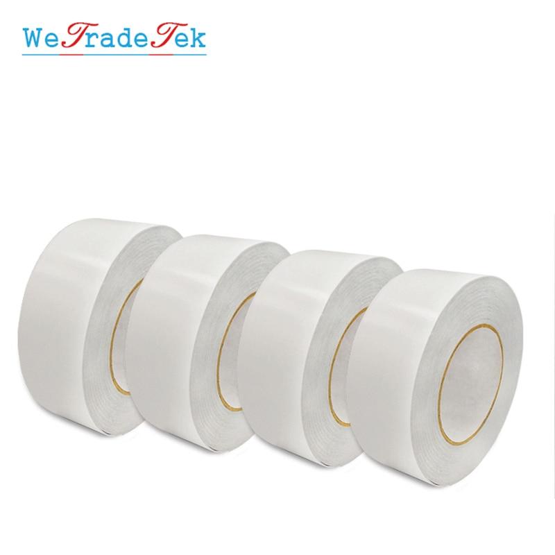 Cinta adhesiva de doble cara adhesiva de 50M PET cinta adhesiva de doble cara autoadhesiva fuerte 8/10/12/15/20/25/30mm