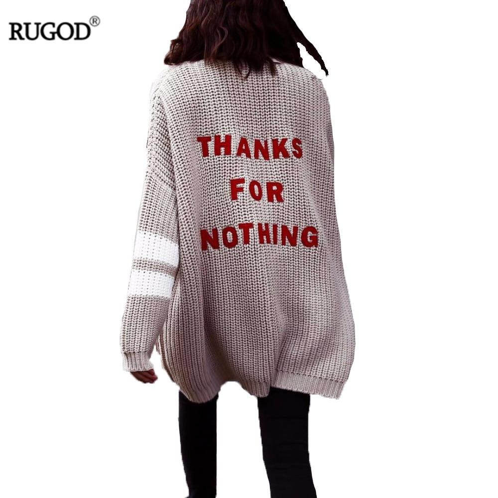 Rugod кардиганы больших размеров Мода 2017 Кашемировый кардиган женский Теплый свитер женский свободные Вязаное пончо кардиган женский