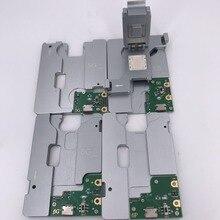 MJ-860 5 en 1 pour inphone 5 5c 5 s 6 6 plus nand pcie flash HDD test montage chilp IC carte mère support de test de disque dur