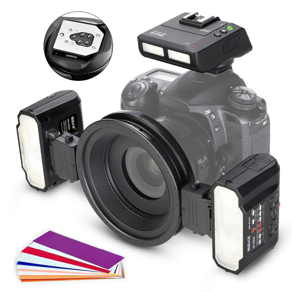 Meike MK-MT24CII Macro Speedlight Flash for Canon DSLR Camera 1100D 1200D 70D 60D 760D 750D 700D 650D 600D 550D 500D 450D 350D