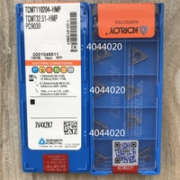 KORLOY TCMT110204-HMP PC9030 TCMT32.51-HMP PC9030 10pcs Quality goods New original