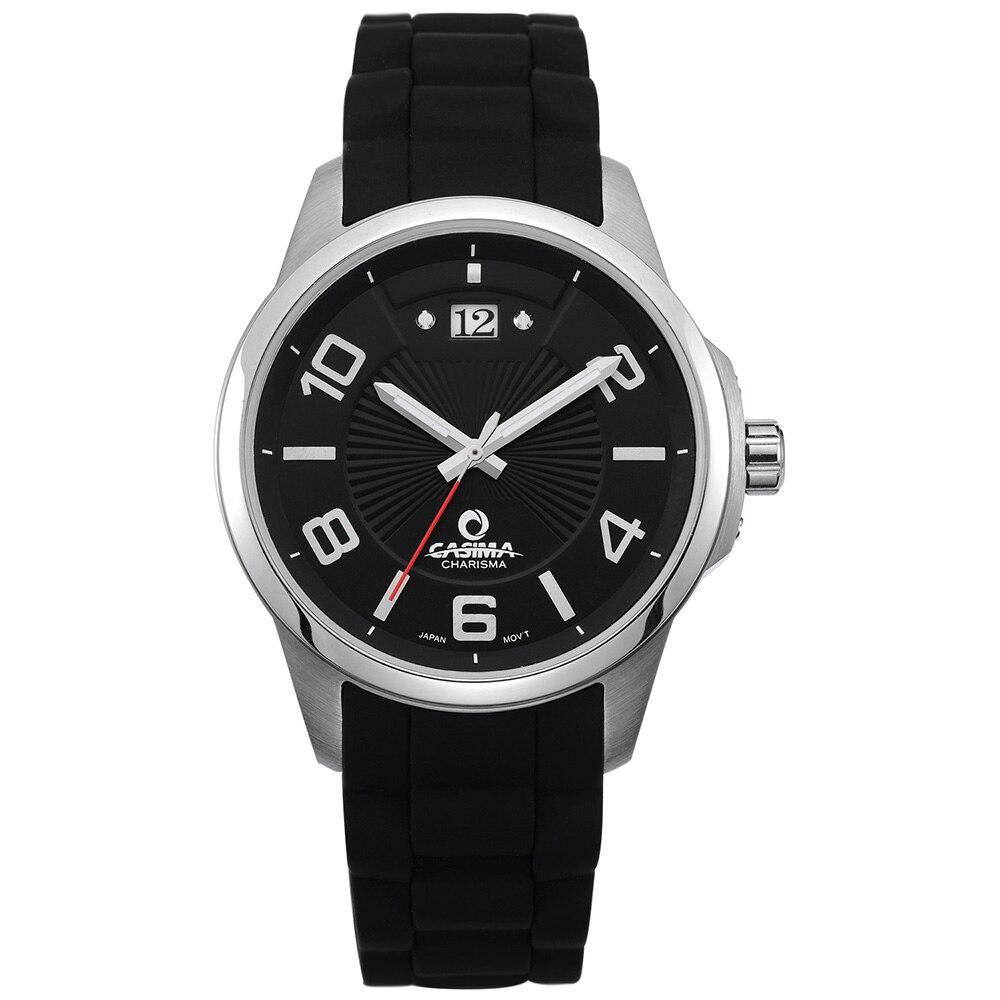 Luxury brand watches men fashion individuality dress leisure mens quartz wrist watch waterproof CASIMA#5109