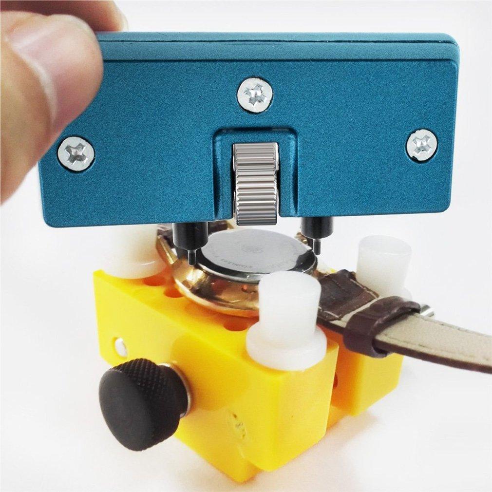 2 pçs relógio conjunto de ferramentas reparação caso do relógio conjunto abridor relógio capa traseira dispositivos abertura kit bateria mudando ferramentas