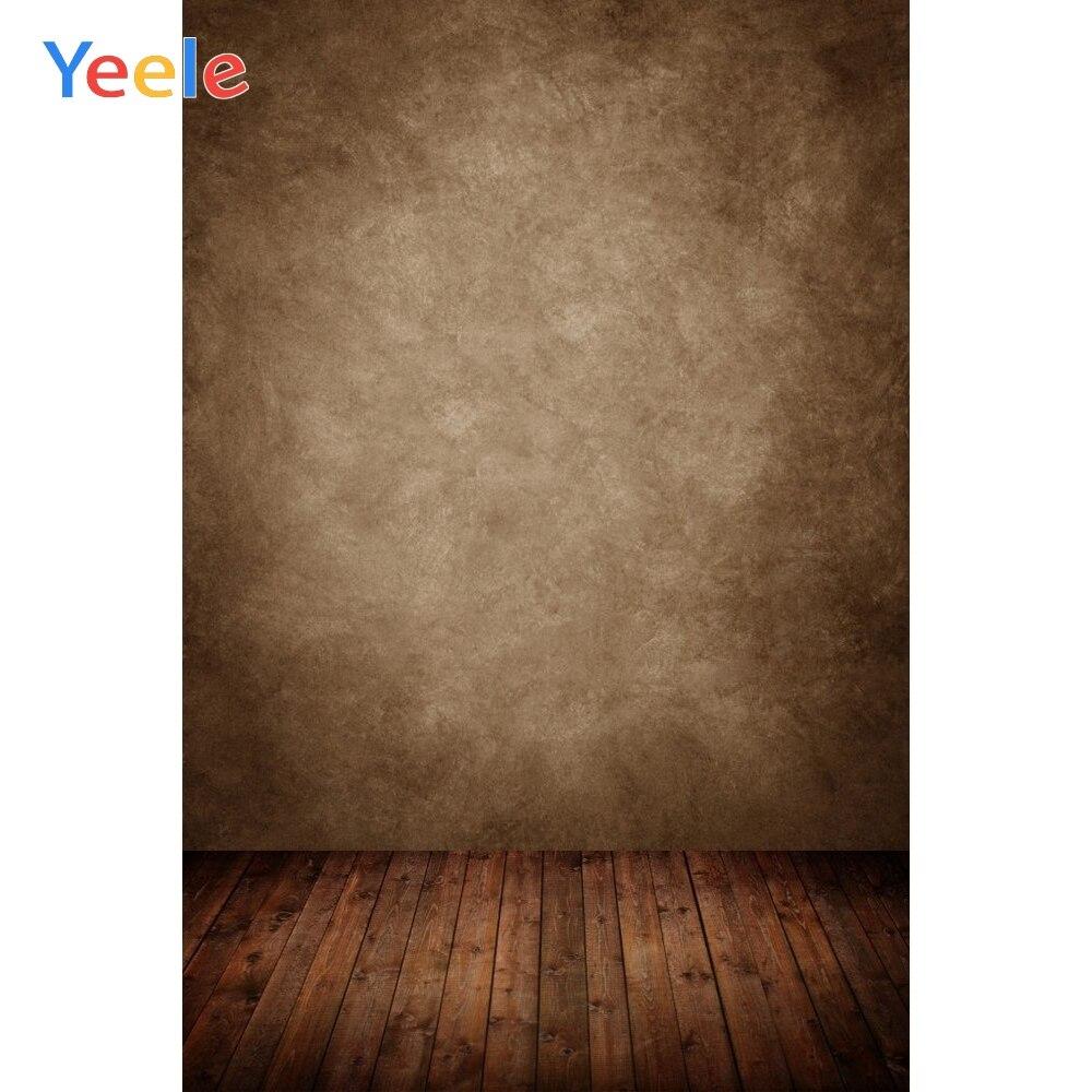 Yeele marrón gradiente sólido Grunge bebé mascota retrato fotografía fondos personalizados fondos fotográficos para estudio fotográfico