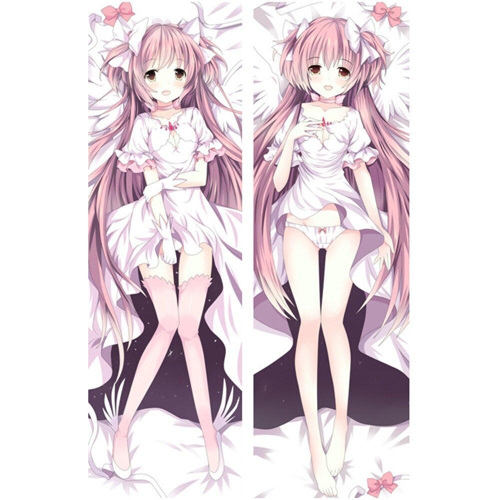 Amellor Anime Puella Magi Madoka Magica la vida de Dakimakura caso fundas de almohada sexy angel chica cuerpo funda de cojín regalo