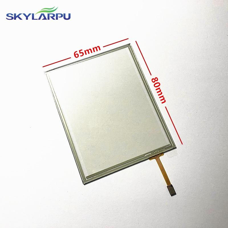 skylarpu 10pcs/lot Data collector Touchscreen for Motorola MC65 MC659B Touch Screen Panel Digitizer Glass Repair Replacement