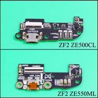 yuxi usb charger dock connector flex cable for asus zenfone 2 ze550ml ze551ml ze500cl z00d charging port repair part with mic