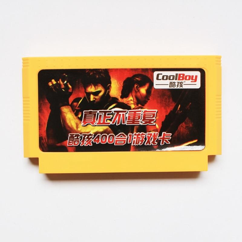 400 en 1 juego Real No repetir 8 bits 60 Pin tarjeta de juego para D99 jugador de juego
