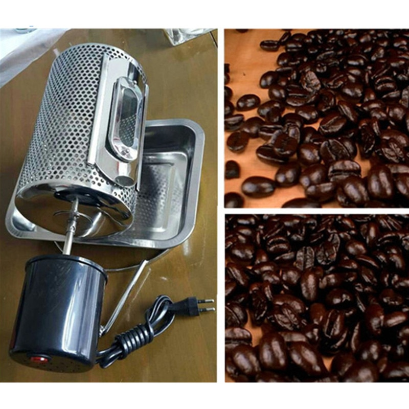 Family use drum coffee roaster for sale coffee baking machine small coffee roasting machines ZF